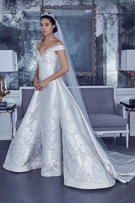 RK9409 Wedding                                          dress by Romona Keveza Collection