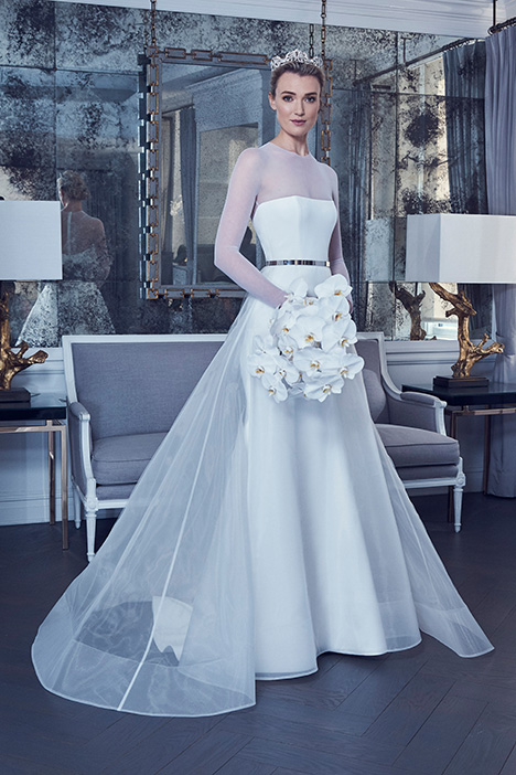 RK9400 Wedding                                          dress by Romona Keveza Collection
