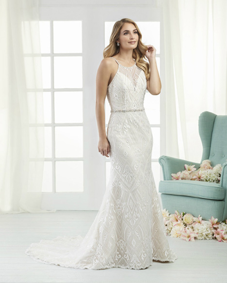 801 Wedding                                          dress by Bonny Bridal