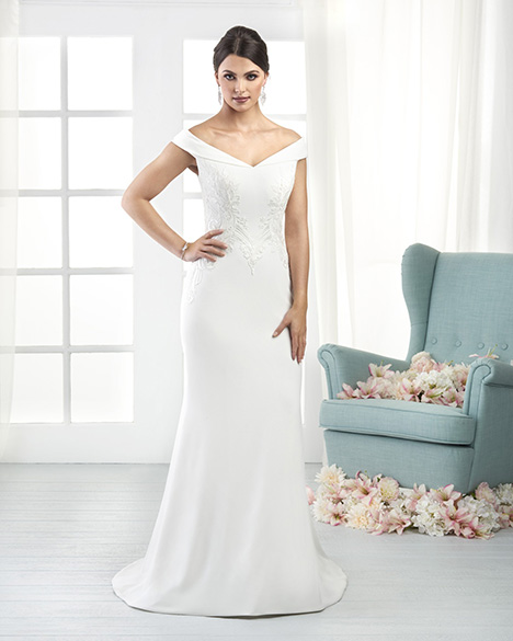 808 Wedding                                          dress by Bonny Bridal