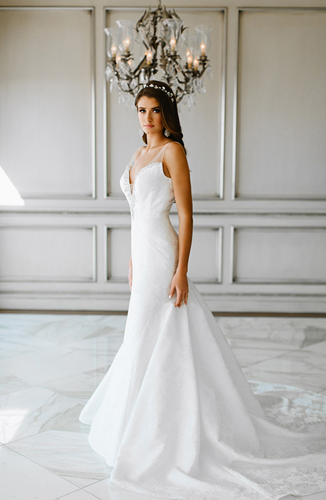 823 Wedding                                          dress by Bonny Bridal