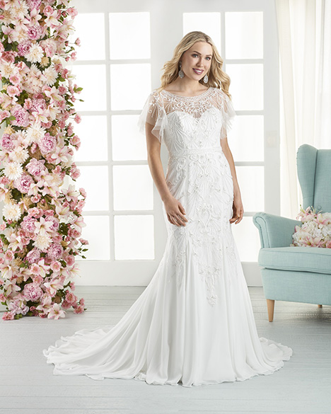 827 Wedding                                          dress by Bonny Bridal
