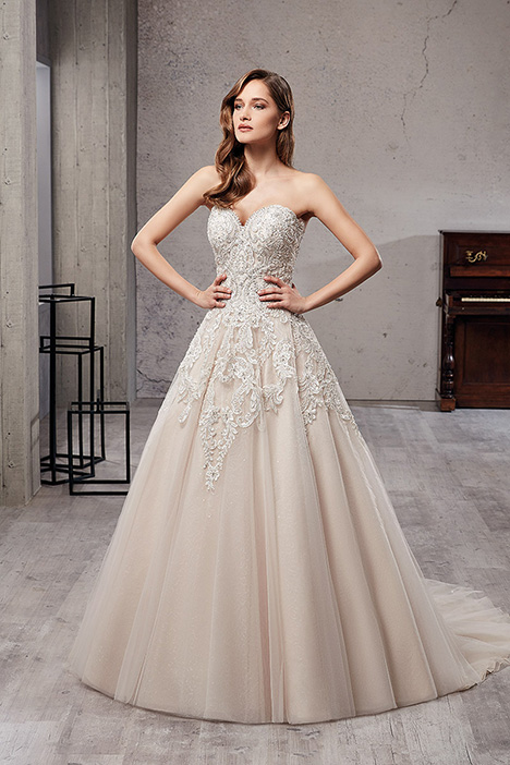 CT219 Wedding                                          dress by Eddy K Couture