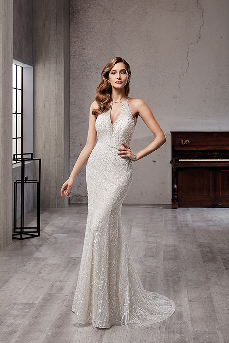 CT221 Wedding                                          dress by Eddy K Couture
