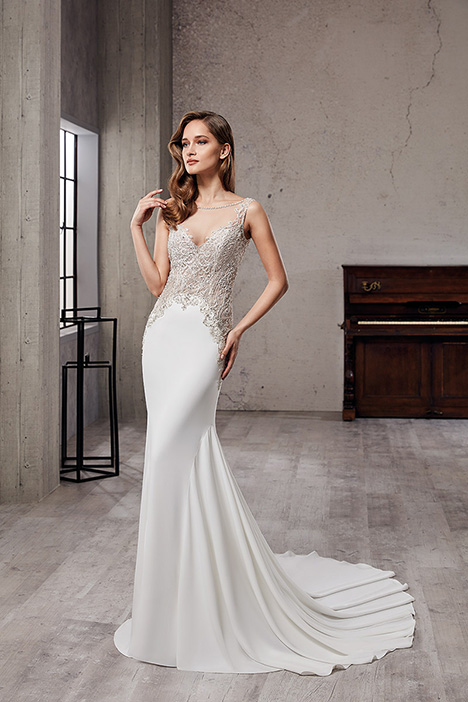 CT223TT Wedding                                          dress by Eddy K Couture