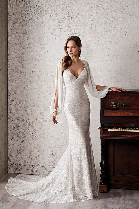 CT226 Wedding                                          dress by Eddy K Couture