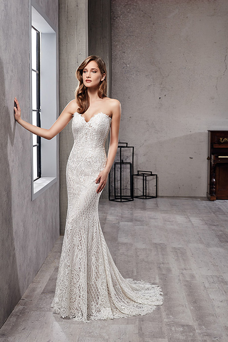 CT227 Wedding                                          dress by Eddy K Couture