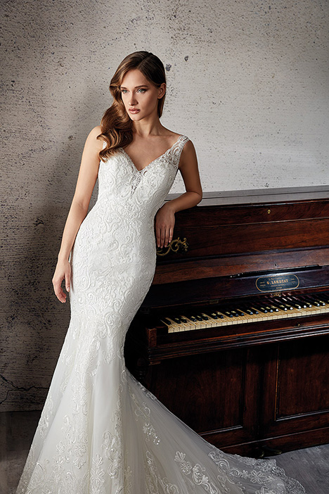 CT236 Wedding                                          dress by Eddy K Couture