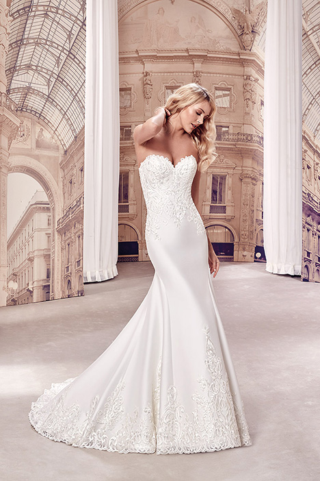 MD268 Wedding                                          dress by Eddy K Milano