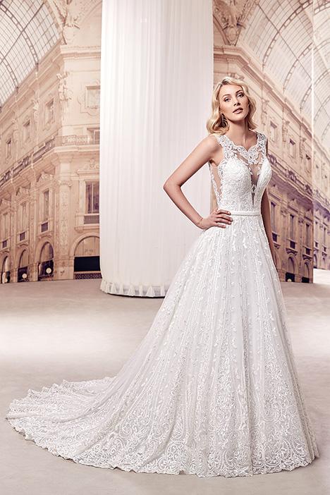 MD279 Wedding                                          dress by Eddy K Milano