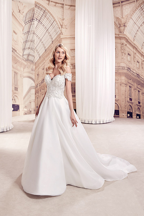 MD283 Wedding                                          dress by Eddy K Milano