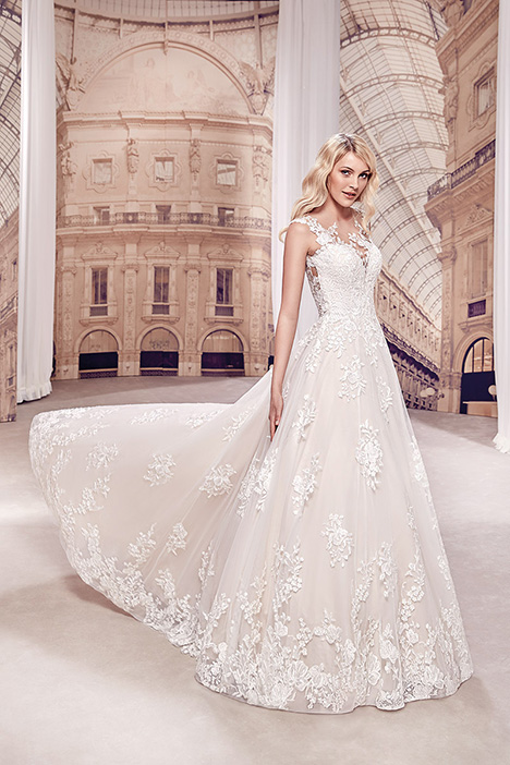 MD285 Wedding                                          dress by Eddy K Milano