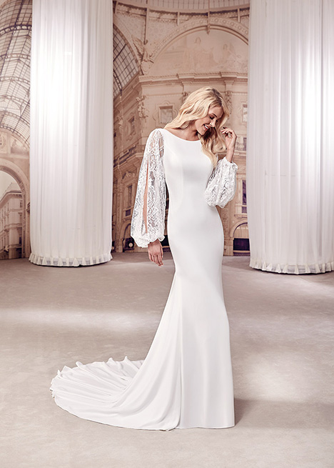 MD286 Wedding                                          dress by Eddy K Milano