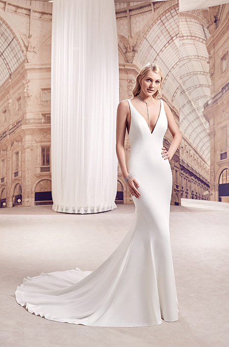 MD288 Wedding                                          dress by Eddy K Milano