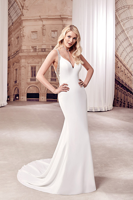 MD289 Wedding                                          dress by Eddy K Milano