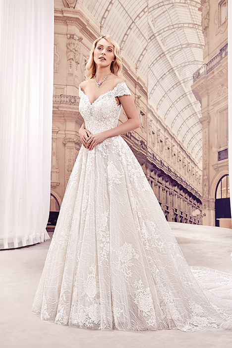 MD295 Wedding                                          dress by Eddy K Milano