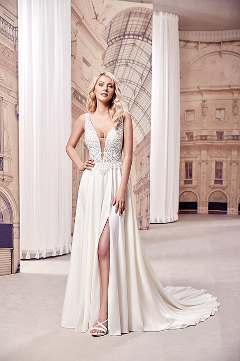 MD296 Wedding                                          dress by Eddy K Milano