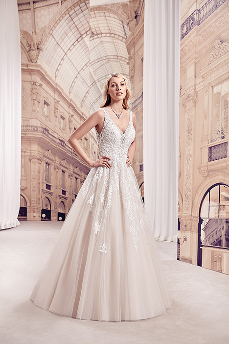 MD297 Wedding                                          dress by Eddy K Milano