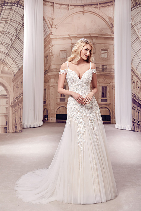 MD299 Wedding                                          dress by Eddy K Milano