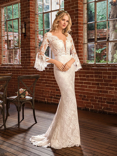 Peyton Wedding                                          dress by Beloved By Casablanca
