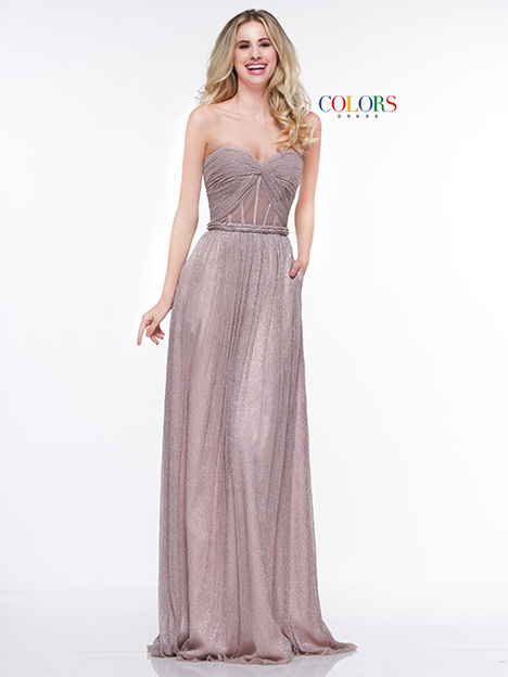 2044 Bridesmaids dress by Colors Dress
