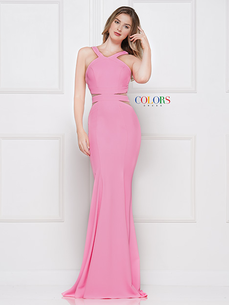 2049 Bridesmaids                                      dress by Colors Dress