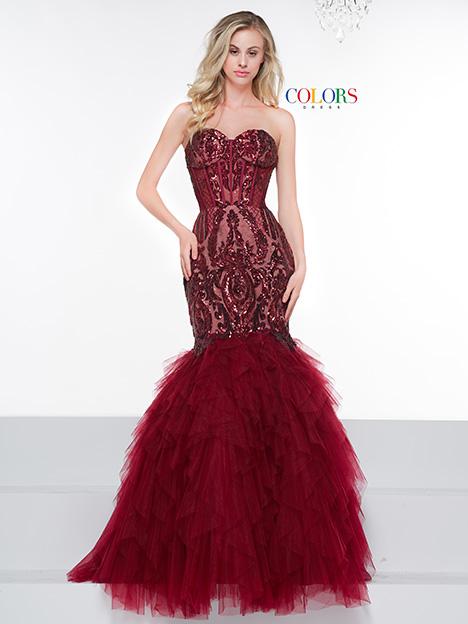 2067 Bridesmaids                                      dress by Colors Dress