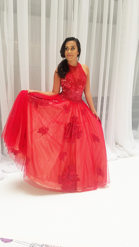 7936 gown from the 2019 Dave & Johnny Special Occasions collection, as seen on dressfinder.ca