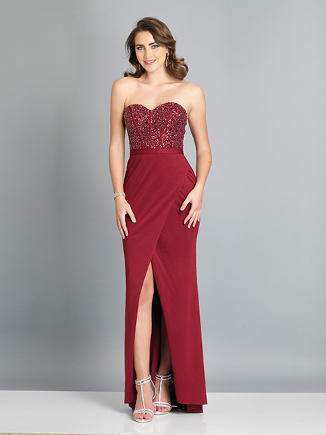 7867 gown from the 2019 Dave & Johnny Special Occasions collection, as seen on dressfinder.ca