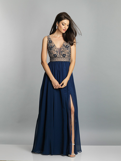 7758 gown from the 2019 Dave & Johnny Special Occasions collection, as seen on dressfinder.ca