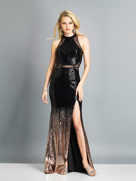 7747 gown from the 2019 Dave & Johnny Special Occasions collection, as seen on dressfinder.ca