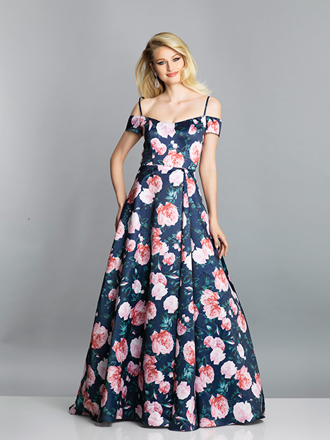 7706 gown from the 2019 Dave & Johnny Special Occasions collection, as seen on dressfinder.ca