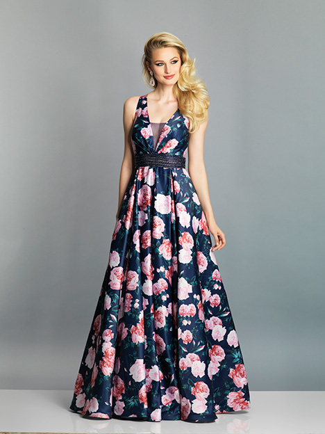 7705 gown from the 2019 Dave & Johnny Special Occasions collection, as seen on dressfinder.ca