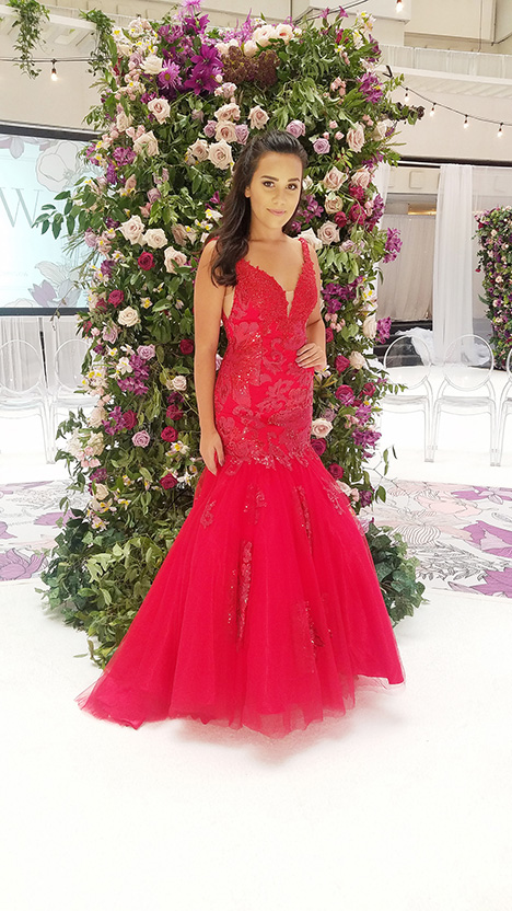 7700 gown from the 2019 Dave & Johnny Special Occasions collection, as seen on dressfinder.ca