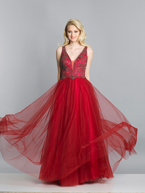 7688 gown from the 2019 Dave & Johnny Special Occasions collection, as seen on dressfinder.ca