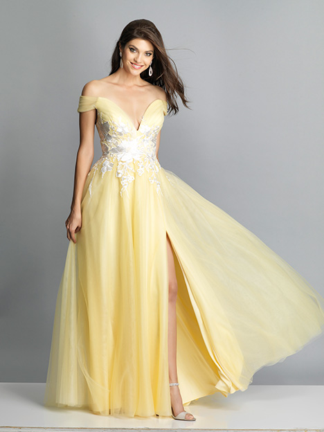 7664 gown from the 2019 Dave & Johnny Special Occasions collection, as seen on dressfinder.ca