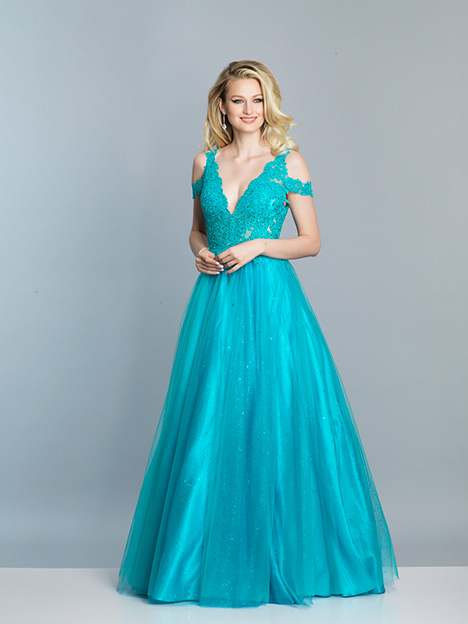 7643 gown from the 2019 Dave & Johnny Special Occasions collection, as seen on dressfinder.ca
