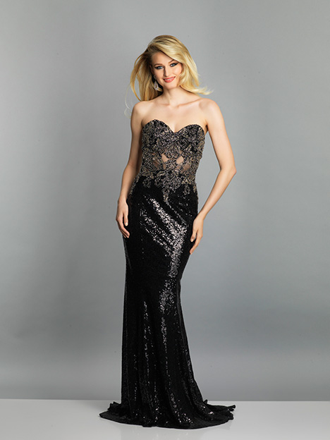 7638 gown from the 2019 Dave & Johnny Special Occasions collection, as seen on dressfinder.ca