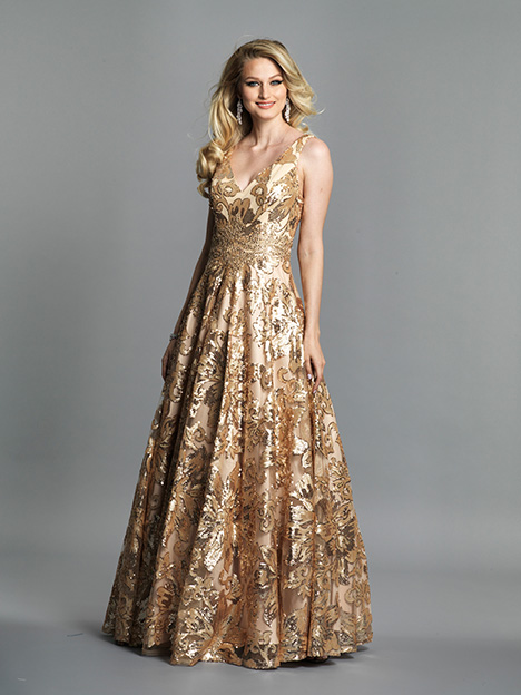 6766 Prom                                             dress by Dave & Johnny Special Occasions