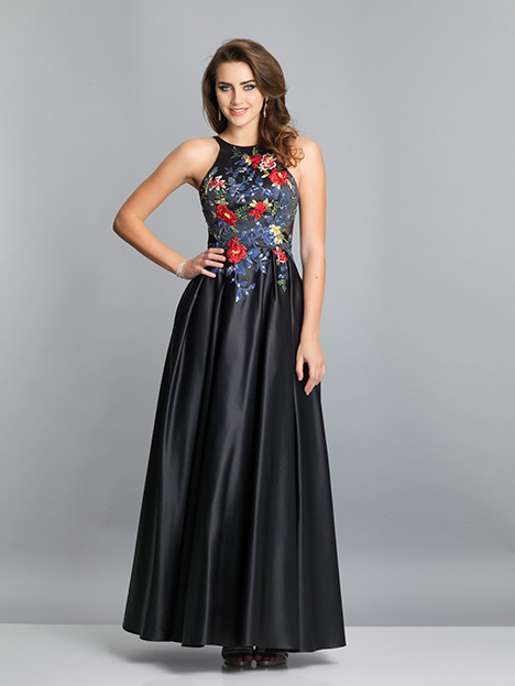 7616 gown from the 2019 Dave & Johnny Special Occasions collection, as seen on dressfinder.ca