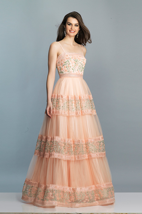 7605 gown from the 2019 Dave & Johnny Special Occasions collection, as seen on dressfinder.ca