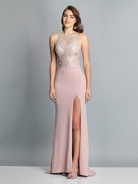 7586 gown from the 2019 Dave & Johnny Special Occasions collection, as seen on dressfinder.ca