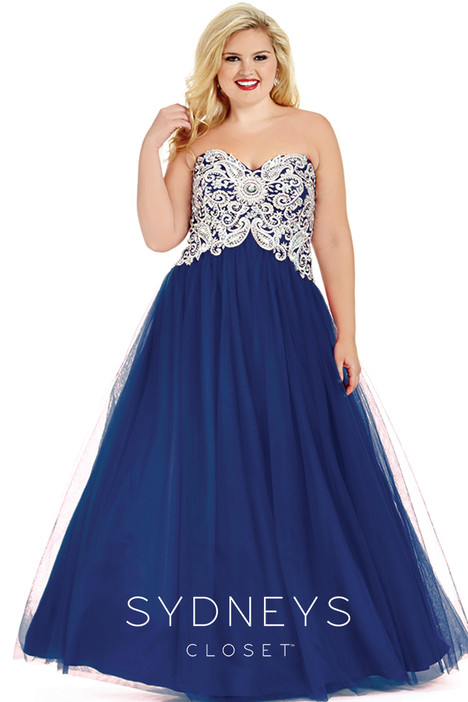 SC6009 (navy) Prom                                             dress by Sydney's Closet Prom+