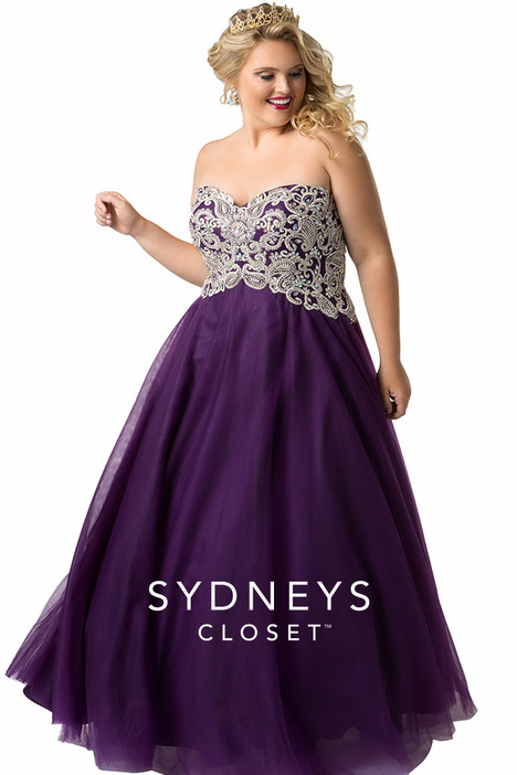 SC6009 (plum) Prom                                             dress by Sydney's Closet Prom+