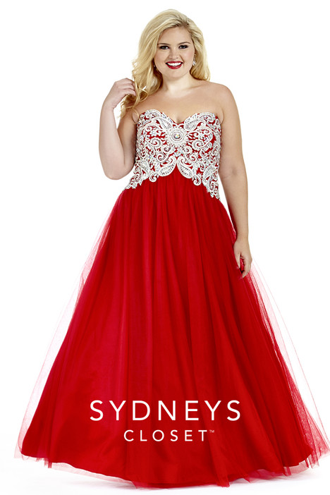 SC6009 (red) Prom                                             dress by Sydney's Closet Prom+