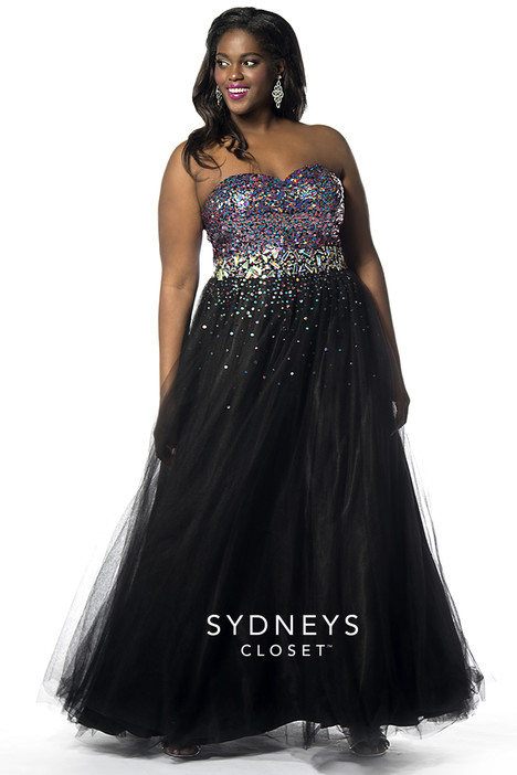 sc7106 (tutti frutti) Prom                                             dress by Sydney's Closet Prom+
