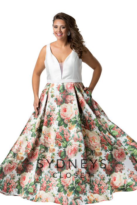 SC7224 (multi) Prom                                             dress by Sydney's Closet Prom+