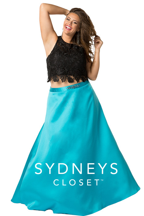 SC7228 (turquoise) Prom                                             dress by Sydney's Closet Prom+