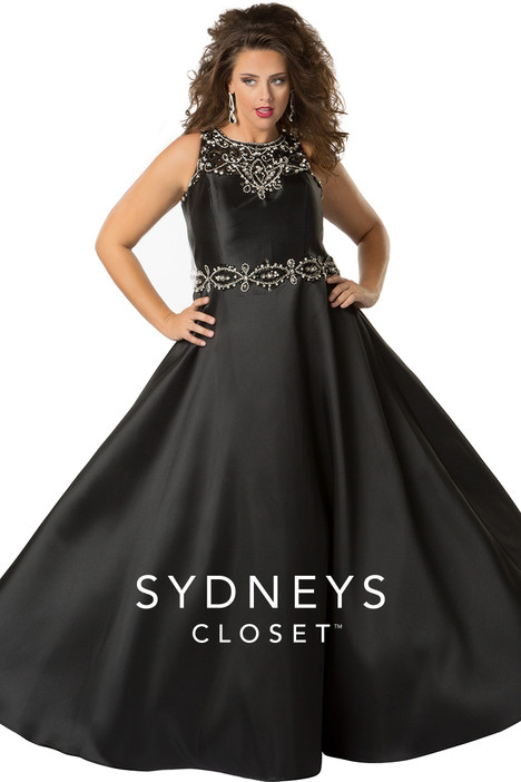 SC7232 (black) Prom                                             dress by Sydney's Closet Prom+