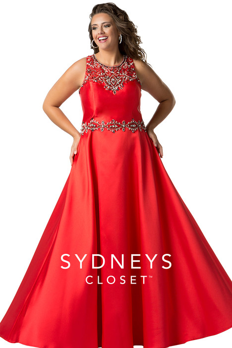 SC7232 (red) Prom                                             dress by Sydney's Closet Prom+